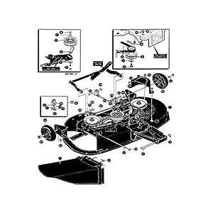 HUSQVARNA ROULEMENT OPTIONS LT 1000-14 LT4140G LT4130G NOMA 533303241 4WS COURROIE DE TRANSMISSION