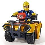 Feuerwehrmann Sam - Fahrzeug Geländewagen Quad Mercury & Spielfigur Sam Test
