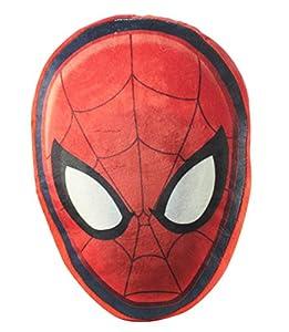 Diakakis-0500824u-Cojín (poliéster Reversible en Forma de Cabeza de Spiderman-Dimensiones 35x 35cm