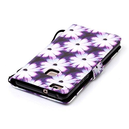Chreey Coque Apple Iphone 7 (4.7 pouces),PU Cuir Portefeuille Etui Housse Case Cover ,carte de crédit Fentes pour ,idéal pour protéger votre téléphone blanc