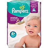 Pampers Active Fit Premium Protection, 140 Pannolini, Taglia 4+ (9-18kg)