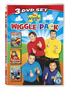 The Wiggles: Wiggle Pack (triple pack) [DVD]