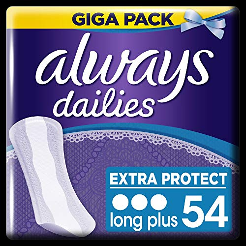 Always Extra Protect Slipeinlagen Long Plus 54 Stück