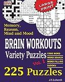 Brain Workouts Variety Puzzles: Volume 1