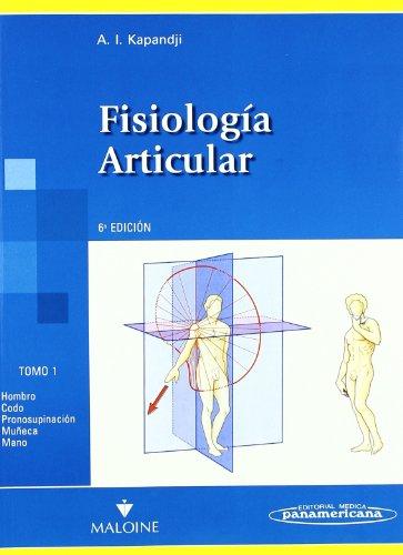 Fisiologia articular (3 vols.) por A.I. Kapandji