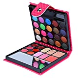 Pure Vie® Professionelle 32 Farben Lidschatten Concealer Rouge und Lipgloss Palette Makeup Kit - Ideal für Sowohl den Professionellen als auch Persönlichen Gebrauch