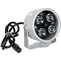 YMAO 4LED Illuminatore Luce CCTV IR a raggi infrarossi Night Vision Security Camera