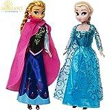 Arihant Ecommerce Frozen Doll Set True Sisters Princess Elsa Doll & Princess Anna Doll