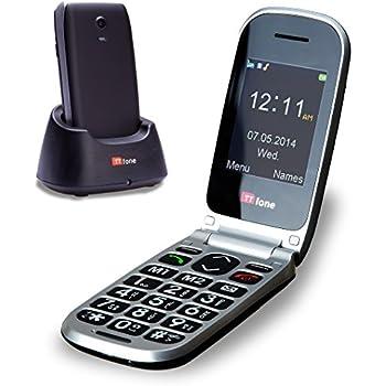 TTfone Pluto TT600 - Teléfono tipo concha libre (botones