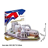 massG® 3D Westminster Abbey Puzzle Jigsaw Monument Decorative Scale Model