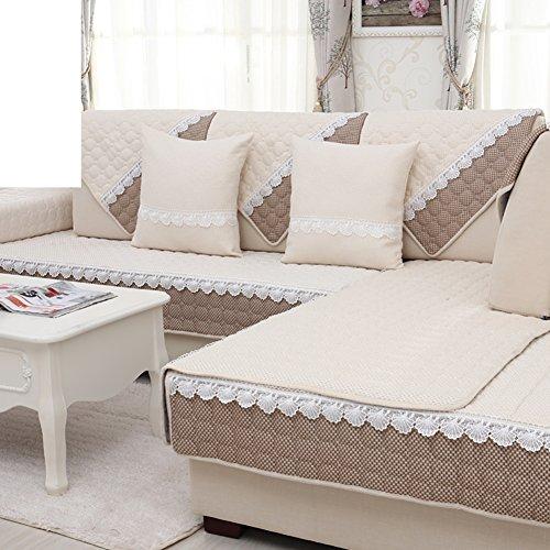 lino tessuto divano cuscini/Coprioggetto semplice e moderno