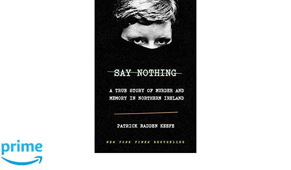 Amazon fr - Say Nothing: A True Story of Murder and Memory