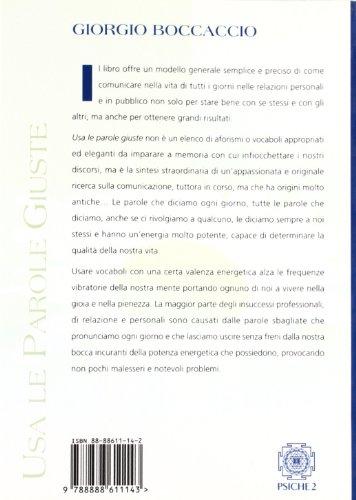 Libro Usa le parole giuste di Giorgio Boccaccio