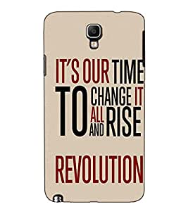 Fuson Designer Back Case Cover for Samsung Galaxy Note 3 Neo :: Samsung Galaxy Note 3 Neo Duos :: Samsung Galaxy Note 3 Neo 3G N750 :: Samsung Galaxy Note 3 Neo Lte+ N7505 :: Samsung Galaxy Note 3 Neo Dual Sim N7502 (It's our time to chage theme)