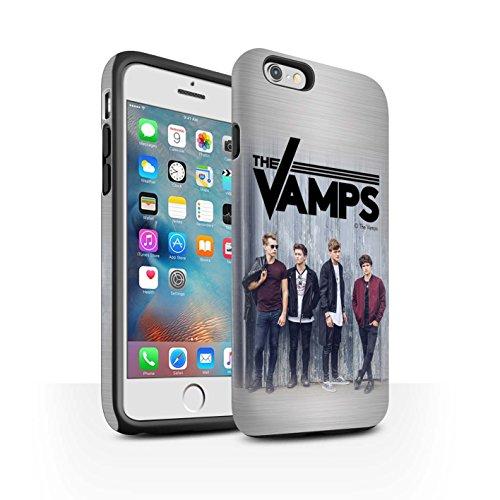 Officiel The Vamps Coque / Matte Robuste Antichoc Etui pour Apple iPhone 6S+/Plus / Pack 6pcs Design / The Vamps Séance Photo Collection Brossé