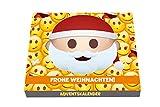 Emotix 3D Pop-Up Adventskalender 120g Milchschokolade - Emoji für Klein und Groß