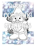 Adult Coloring Gnomes: An Adult Coloring Fun-Book: Remember Your Favorite Cartoon Stress Relieving Color-Book
