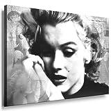 Kunstdruck Marilyn Monroe Bild fertig auf Keilrahmen ! Pop Art Gemälde Kunstdrucke, Wandbilder, Bilder zur Dekoration - Deko. Film / Movie / Tv Stars Kunstdrucke