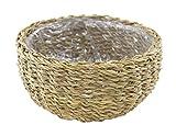 Seegras-Korb mit Einsatz (A) rund flach 1 Stück - S