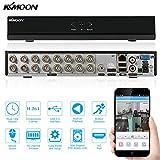 KKmoon 16 Canales DVR 960H D1 Grabador de Video (CCTV Network, H.264, P2P, HDMI, Grabación Programada, Detección de Movimiento, Zoom Digital, Tiempo Real, Sistema Vigilancia)