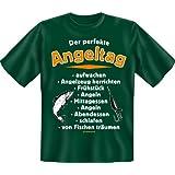 Geburtstag Party Fun T-Shirt für Angler geil bedruckt / Der perfekte Angeltag !
