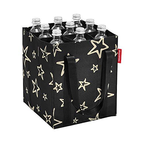 reisenthel bottlebag Flaschentasche 9 Fächer - 24 x 28 x 24 cm stars