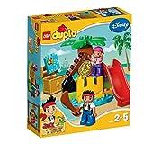 LEGO DUPLO Jake und die Nimmerland-Piraten Schatzinsel 10604
