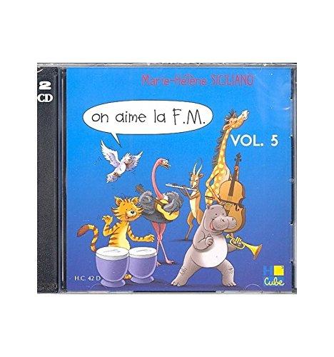 CD siciliano Marie-Hélène on aime la F.M. Vol.5–formación musical