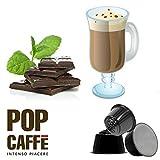 POP CAFFE' NESCAFE DOLCE GUSTO COMPATIBILE 48 CAPSULE CIOCCOLATO ALLA MENTA