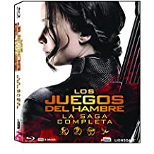 Los Juegos Del Hambre - La Saga Completa Blu-Ray