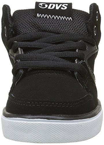 DVS APPAREL Everett Mid, Chaussures de Skateboard Garçon Noir (001)