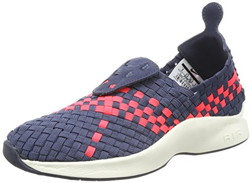 Nike Wmns Air Woven, Chaussures de Gymnastique Femme Multicolore (Thunder Blue/solar Red)