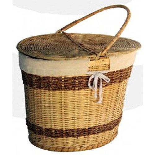 Jupiter Gifts and Crafts bamboo made picnic basket