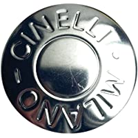 Cinelli Milano - Tapones para manillar (2 unidades) plata plata Talla:talla única