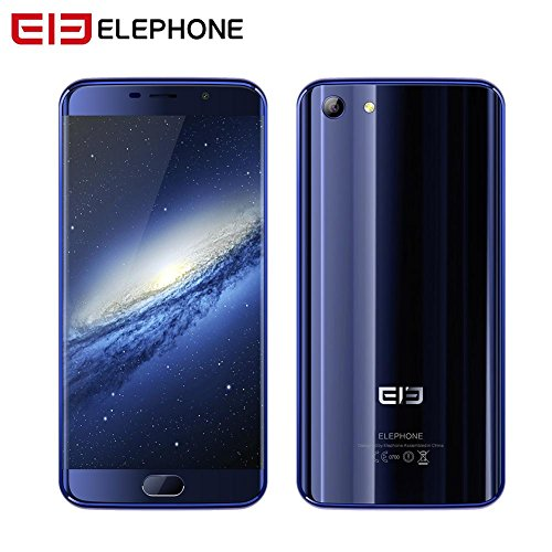 """Elephone S7 5.5""""4G Android Smartphone 6.0 Helio X25 Deca Core Double 4G RAM + 64G ROM Caméra 13MP + 5MP Batterie 3000 mAh Double SIM Support Capteur D"""