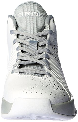Nike , Bas homme Multicolore - Blanco / Gris (White / Wolf Grey)
