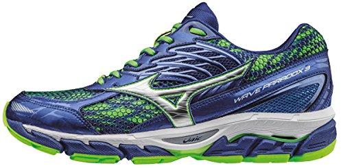 Mizuno Wave Paradox 3, Zapatillas de Running para Hombre, Azul (Surf t