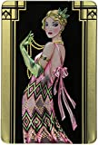 Churchill's Rose Deco Lady Belgian Chocolate Biscuits 300 g