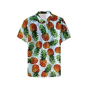 Fansu 3D Camisa Hawaiana para