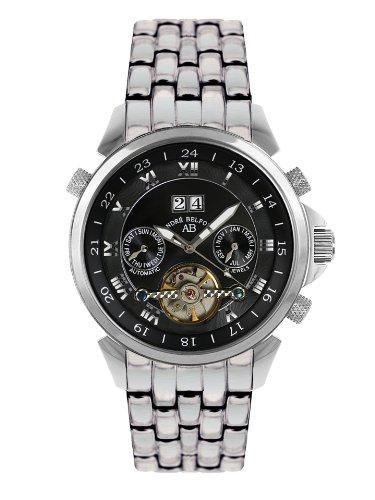André Belfort 410014 - Orologio da polso da uomo, cinturino in acciaio inox colore argento