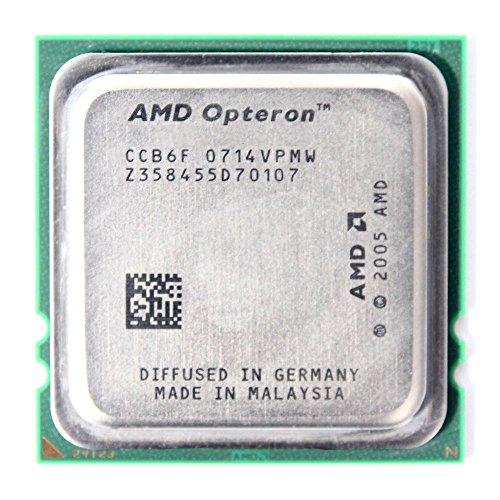 AMD Opteron 2218 2x2.60GHz OSA2218GAA6CQ Sockel/Socket F 1207 CPU 95 W Processor (Generalüberholt)