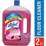 Lizol Disinfectant Floor Cleaner Floral, 2 L