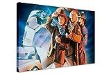 Zurück in die Zukunft 3Film Poster Bilder auf Leinwand Film Wall Art Prints Home Dekoration, canvas holz, 08- A0 - 40