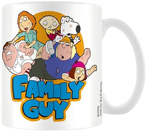 Family Guy - Tazza in ceramica, motivo: i Griffin (immagine di gruppo), (Immagine Gruppo)