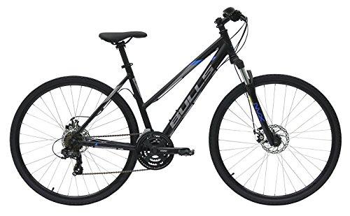 Damen Fahrrad 28 Zoll schwarz - Bulls Wildcross Crossbike - Shimano Schaltung 21 Gänge