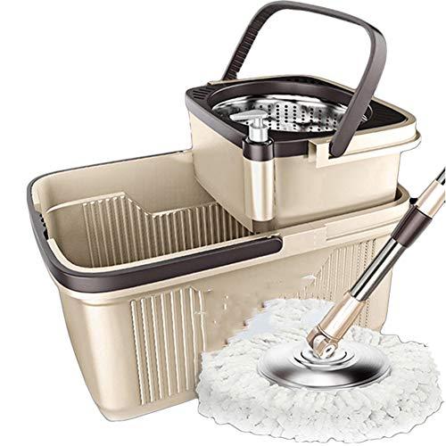 Axdwfd mocio rotante doppia guida lavabile pressione della mano disidratazione automatica secchio mop
