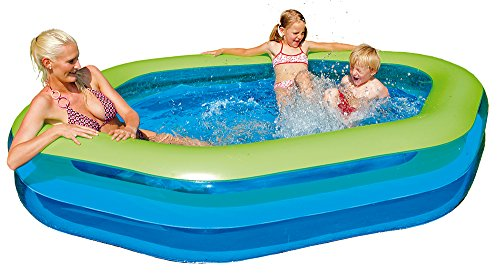 Happy-People-77781-Jumbo-Pool-Hexagon-252-x-172-x-50-cm