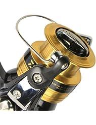 ZXCB Fishing Reel Fishing Reel Clip Ball Bearing Durable Smooth Swap Gauche Et Droit Rotation Des Articles De Pêche Au Rouleau De Pêche