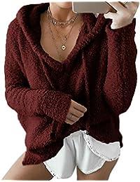 Amazon.es  Terciopelo - Rojo   Blusas y camisas   Camisetas 0202e098f938c