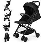 Katze-Tatze Stroller Pushchair Lightweight Stroller,Joie Strolle Travel Parm One Step Design for Opening and Folding…
